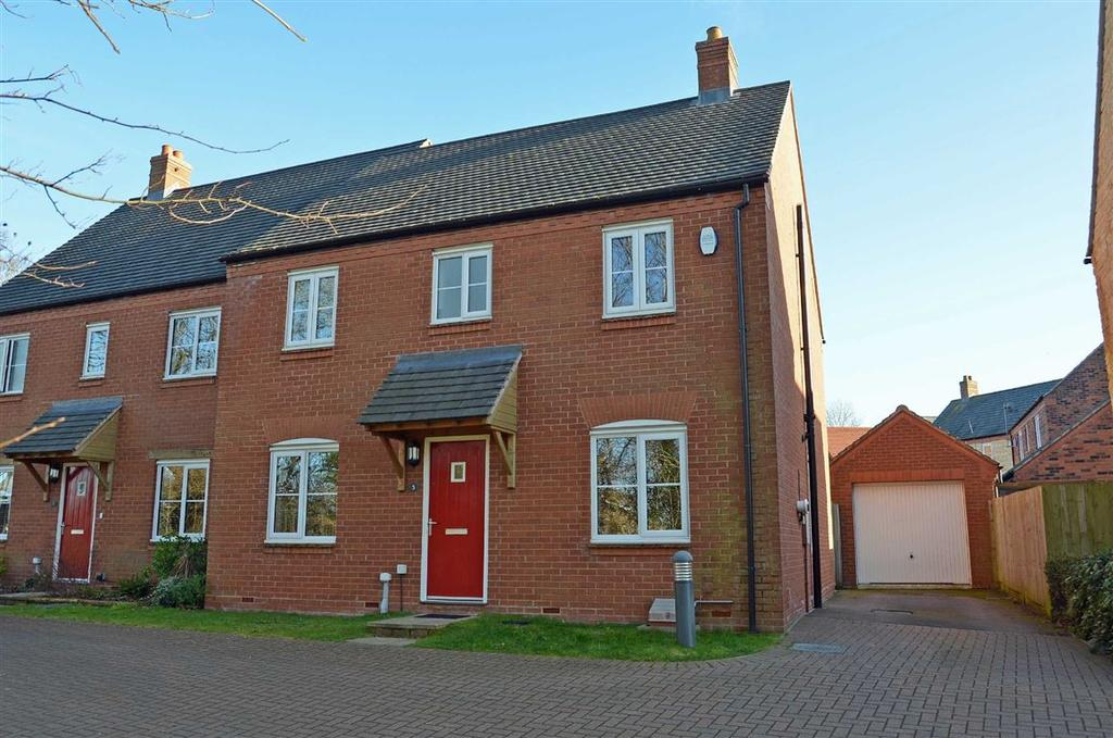 4 Bedrooms Semi Detached House for sale in Lime Kiln Close, Silverstone