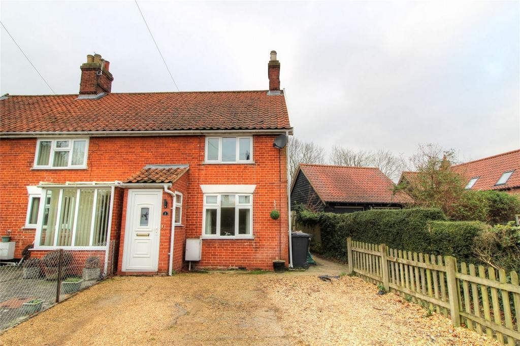 2 Bedrooms Semi Detached House for sale in 5 Prospect Avenue NR17 2BZ, ATTLEBOROUGH, ATTLEBOROUGH, Norfolk