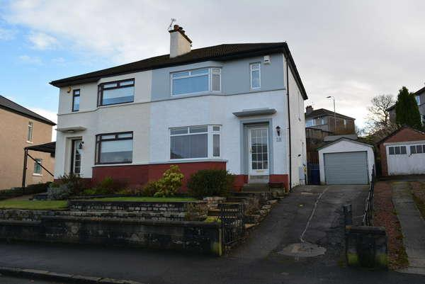 3 Bedrooms Semi-detached Villa House for sale in 19 Woodend Drive, Ralston, Paisley, PA1 3DX