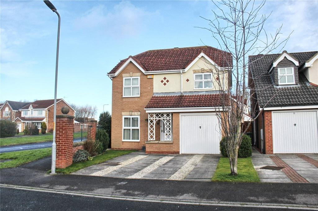 4 Bedrooms Detached House for sale in Pembroke Drive, Ingleby Barwick