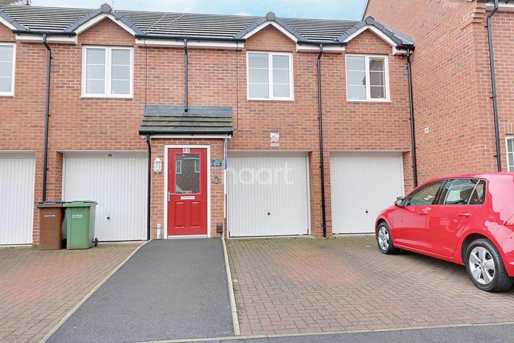 2 Bedrooms Terraced House for sale in Bakewell Drive, Top Valley, Nottingham.