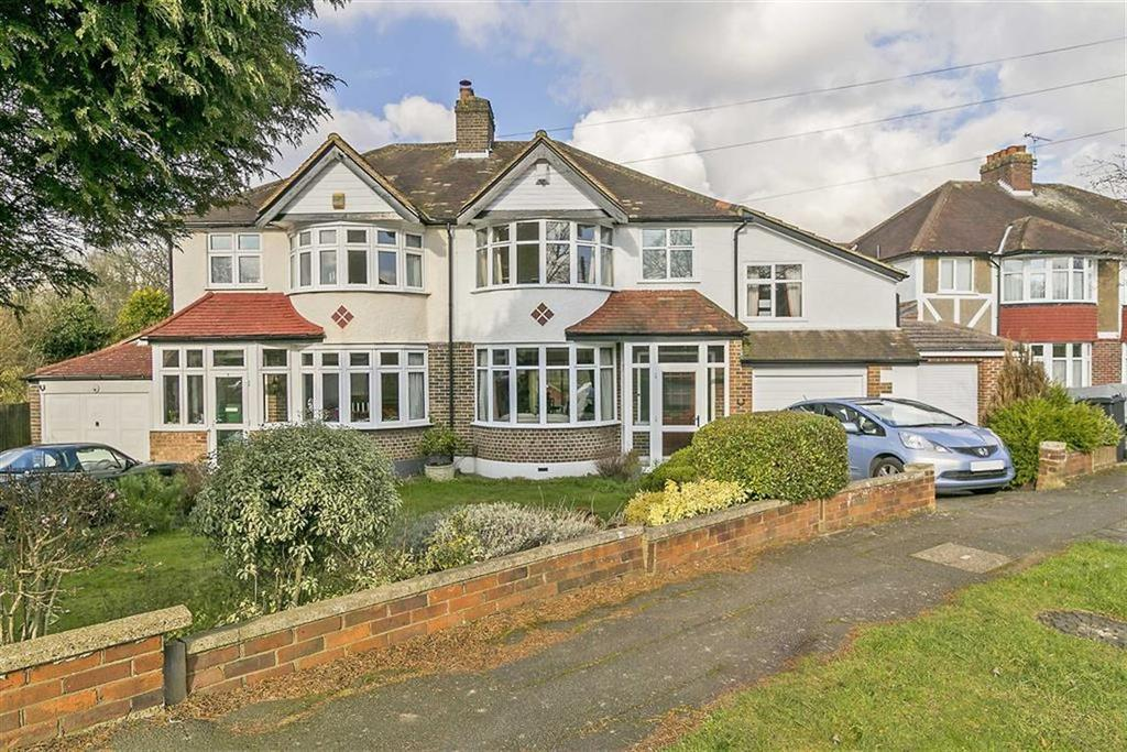4 Bedrooms Semi Detached House for sale in Commonfield Road, Banstead, Surrey