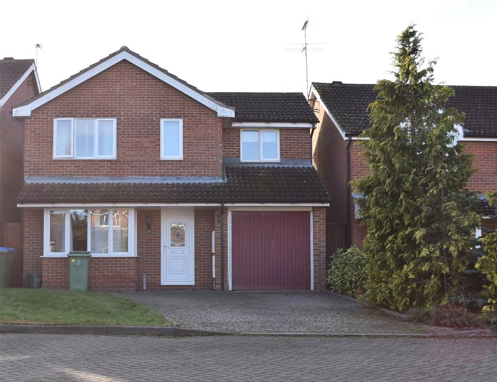 4 Bedrooms Detached House for sale in Courthouse Close, Winslow