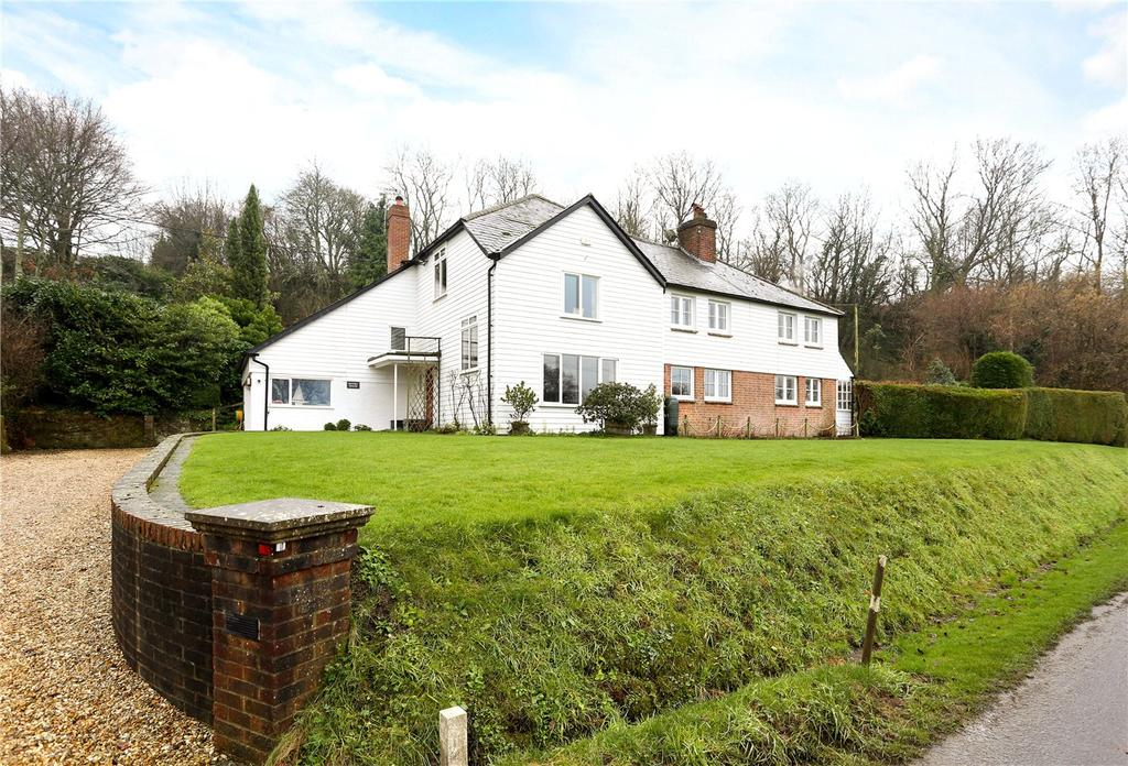 5 Bedrooms Detached House for sale in Quebec, West Harting, Petersfield, GU31