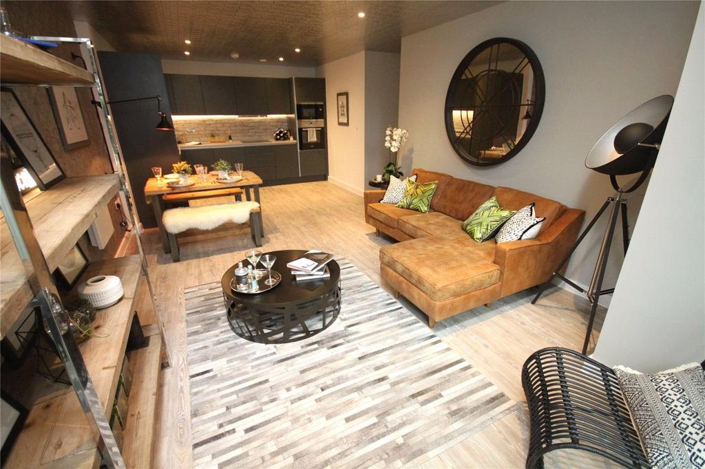 2 Bedrooms Flat for sale in Potato Wharf, Goodwin, Manchester, Greater Manchester, M3