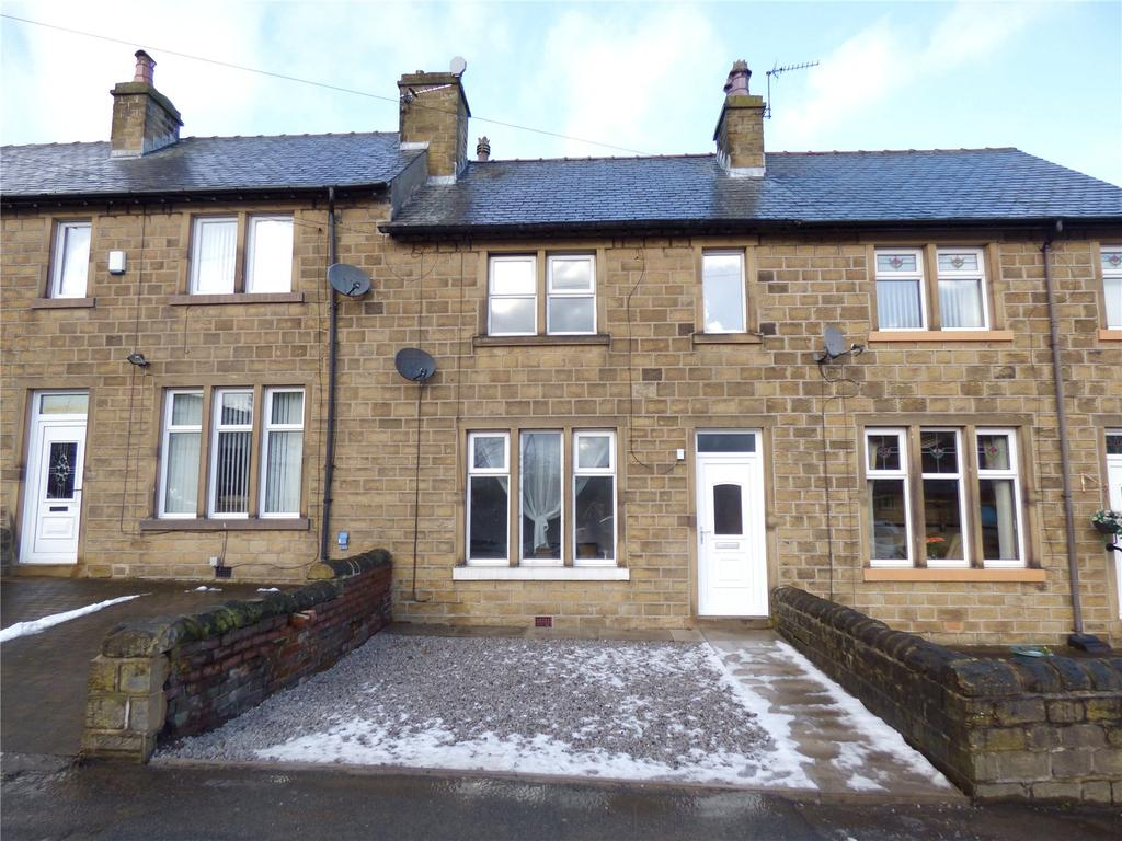 3 Bedrooms Terraced House for sale in Leymoor Road, Golcar, Huddersfield, West Yorkshire, HD3