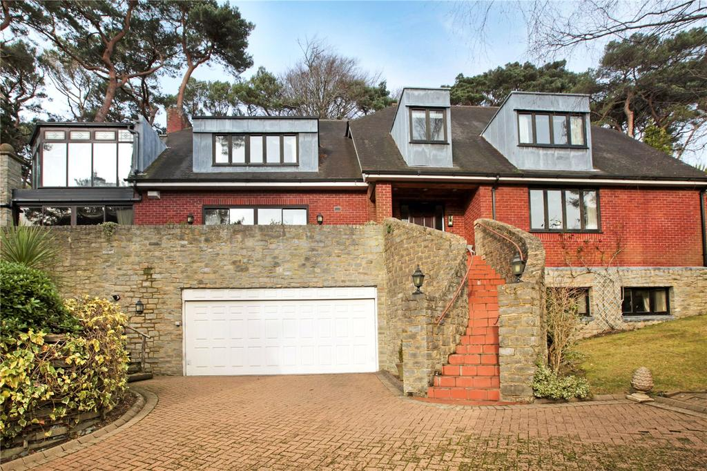 4 Bedrooms Detached House for sale in The Glen, 166 Canford Cliffs Road, Poole, Dorset, BH13
