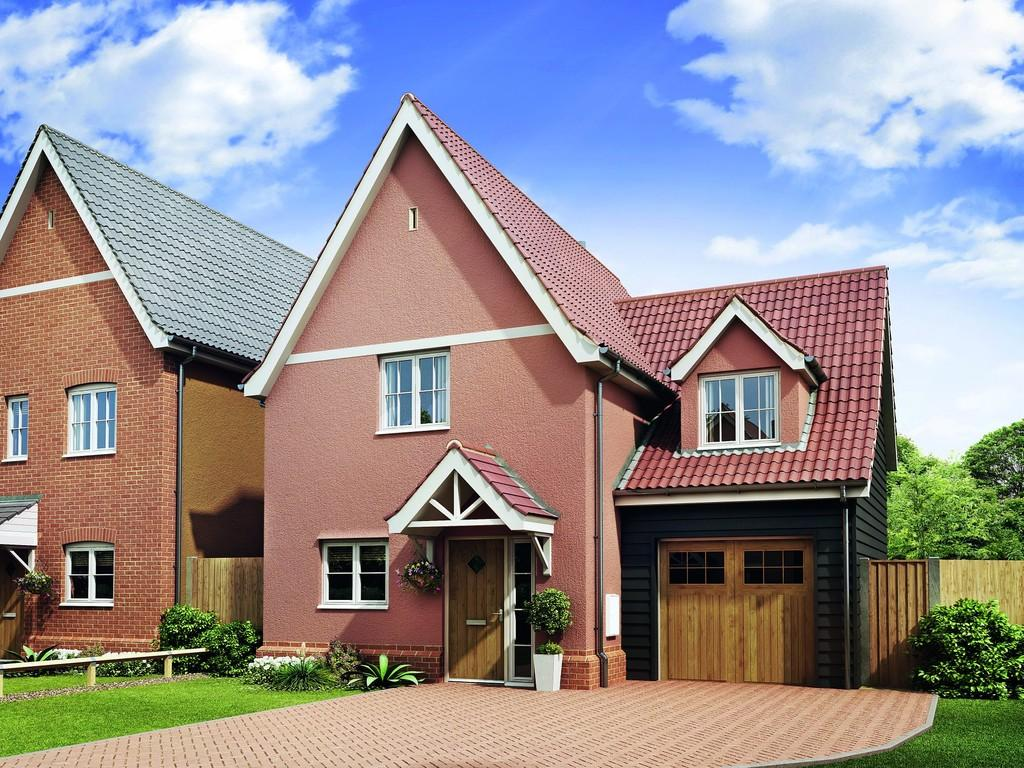 3 Bedrooms Detached House for sale in Campsea Ashe, Suffolk