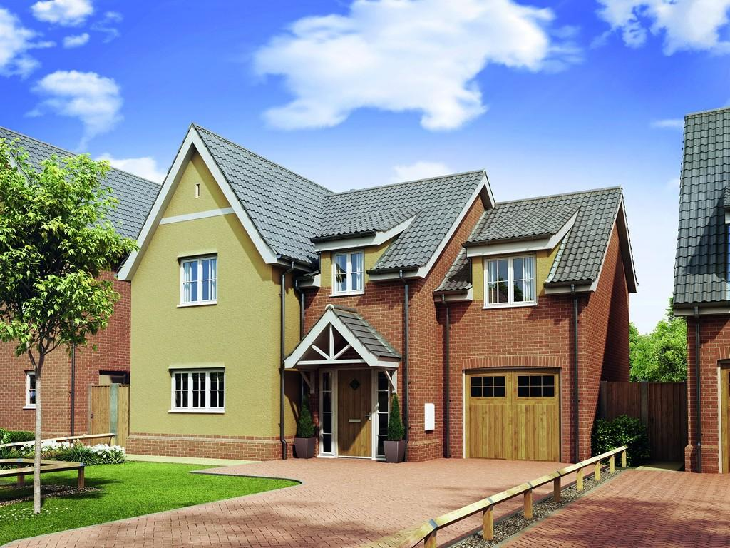 4 Bedrooms Detached House for sale in Campsea Ashe, Suffolk