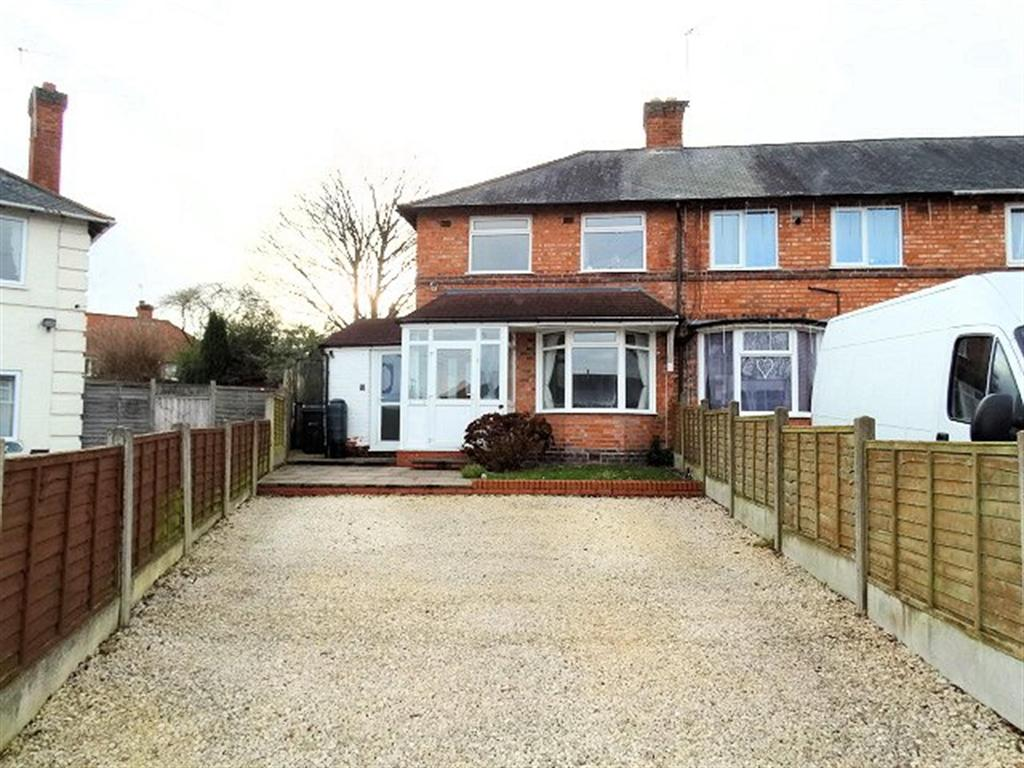 2 Bedrooms End Of Terrace House for sale in Ladbroke Grove , Birmingham, West Midlands, B27 7LB