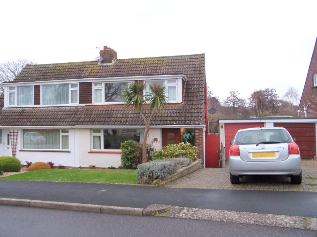 3 Bedrooms Semi Detached House for sale in Burnside, Exmouth