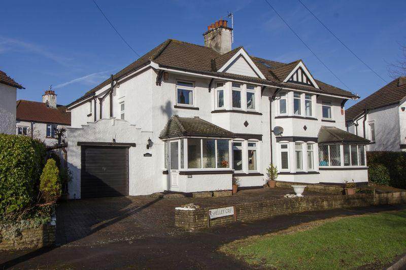 3 Bedrooms Semi Detached House for sale in Shelley Crescent, Penarth
