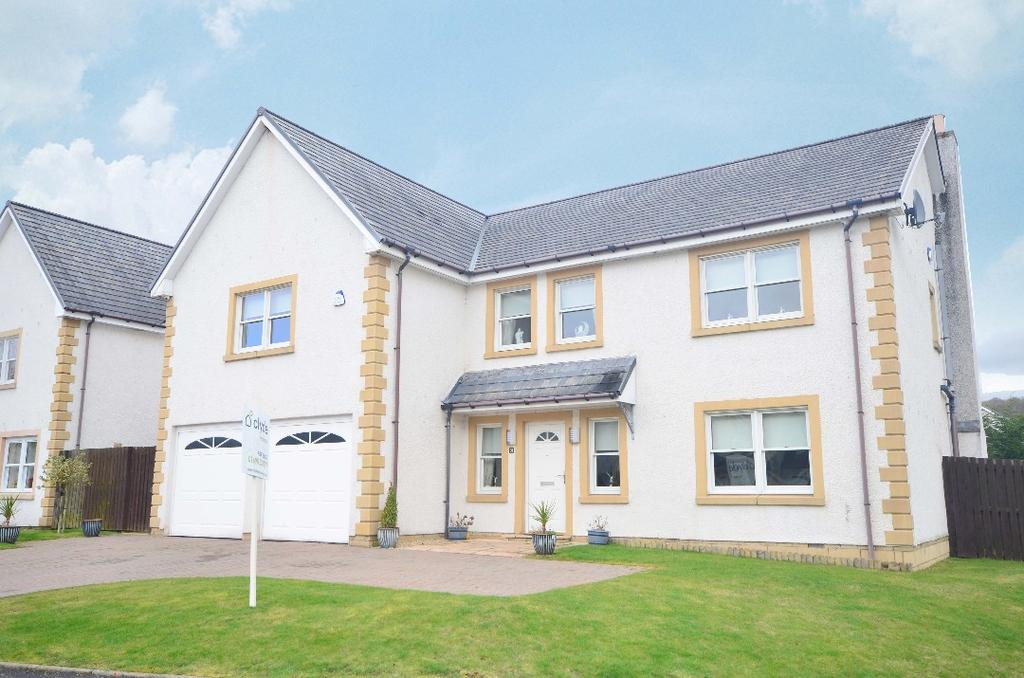5 Bedrooms Detached House for sale in Holmwood Park, Crossford, South Lanarkshire, ML8 5SZ