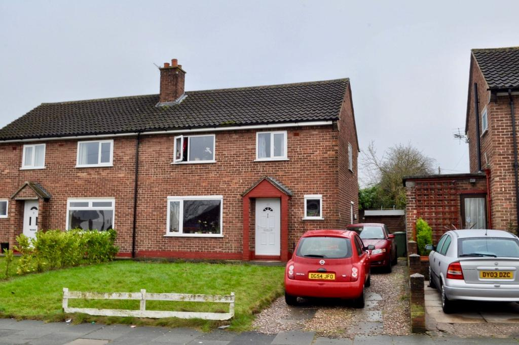 3 Bedrooms Semi Detached House for sale in Fairfield Road, Leftwich, Northwich, CW9