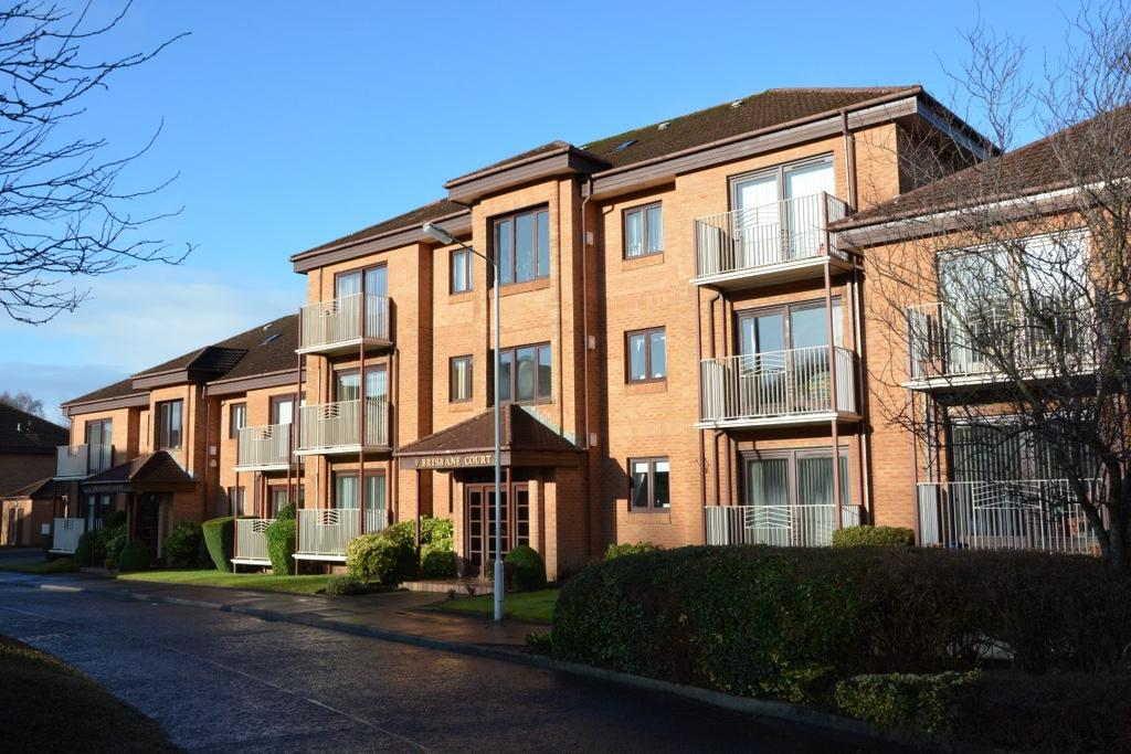 2 Bedrooms Flat for sale in 9a Brisbane Court, Giffnock, Glasgow, G46