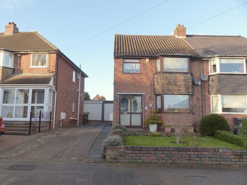 3 Bedrooms Semi Detached House for sale in Gainsborough Crescent, Great Barr