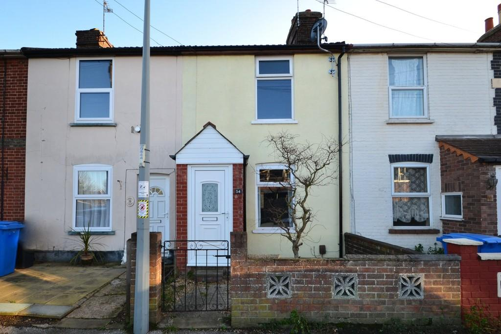 2 Bedrooms Terraced House for sale in Belvedere Road, Ipswich, IP4 4AB