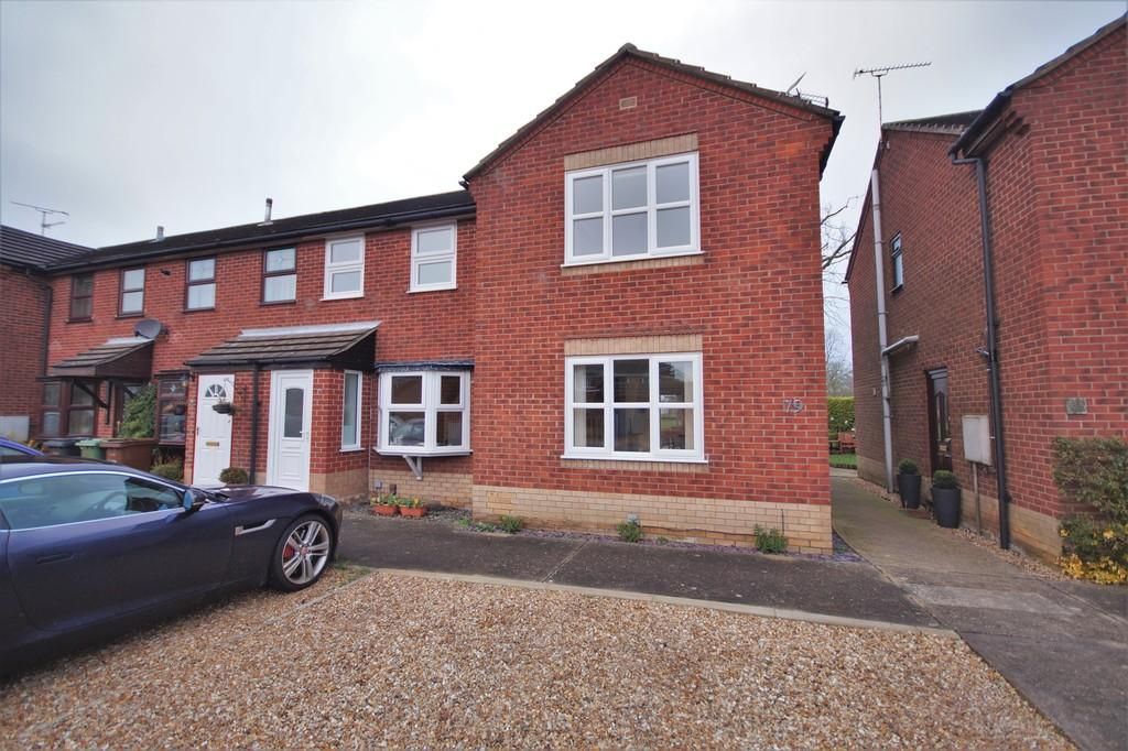 2 Bedrooms End Of Terrace House for sale in Dunkirk Road, Lincoln