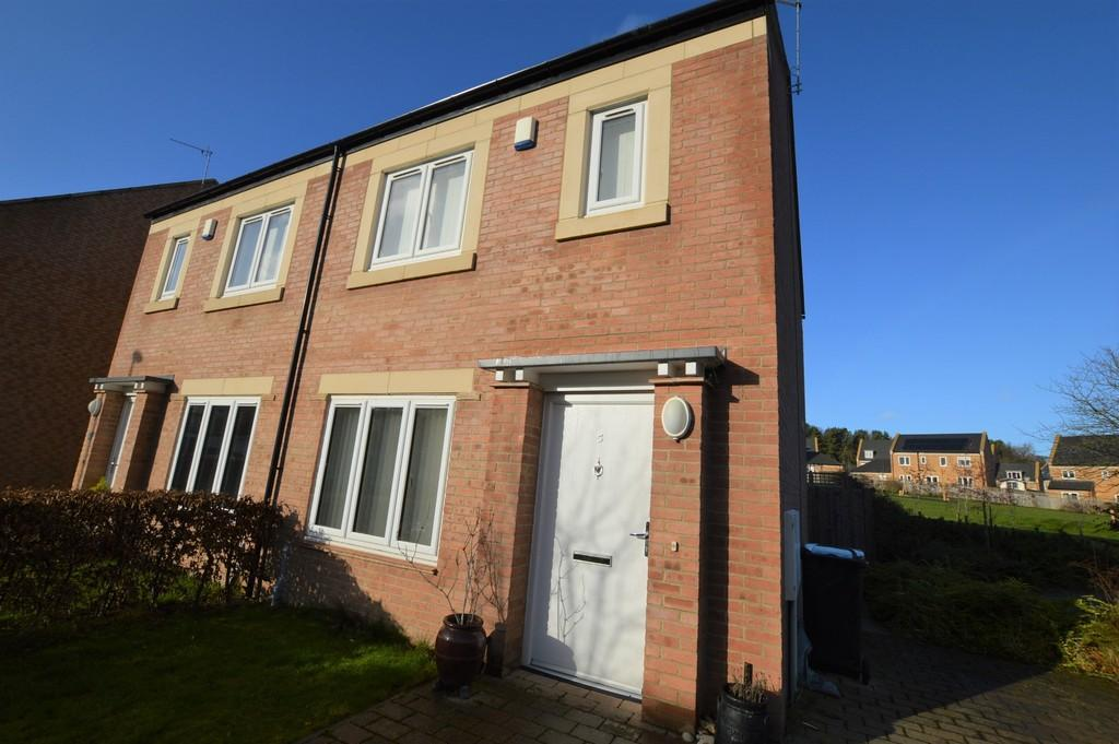 2 Bedrooms Semi Detached House for sale in Fern Close, Prudhoe
