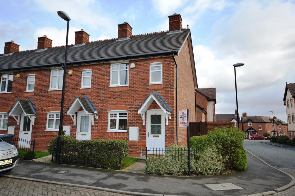 2 Bedrooms End Of Terrace House for sale in White Clover Square, Lymm