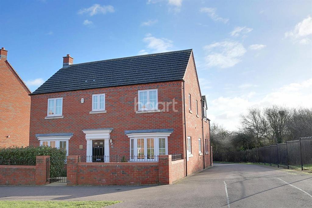 4 Bedrooms Detached House for sale in Woodlands Park, Bedford