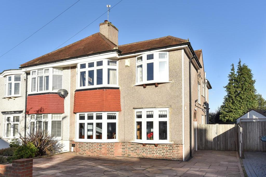 4 Bedrooms Semi Detached House for sale in Pine Avenue, West Wickham