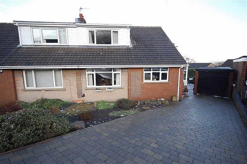 4 Bedrooms Semi Detached House for sale in Briar Close, Elland, HX5