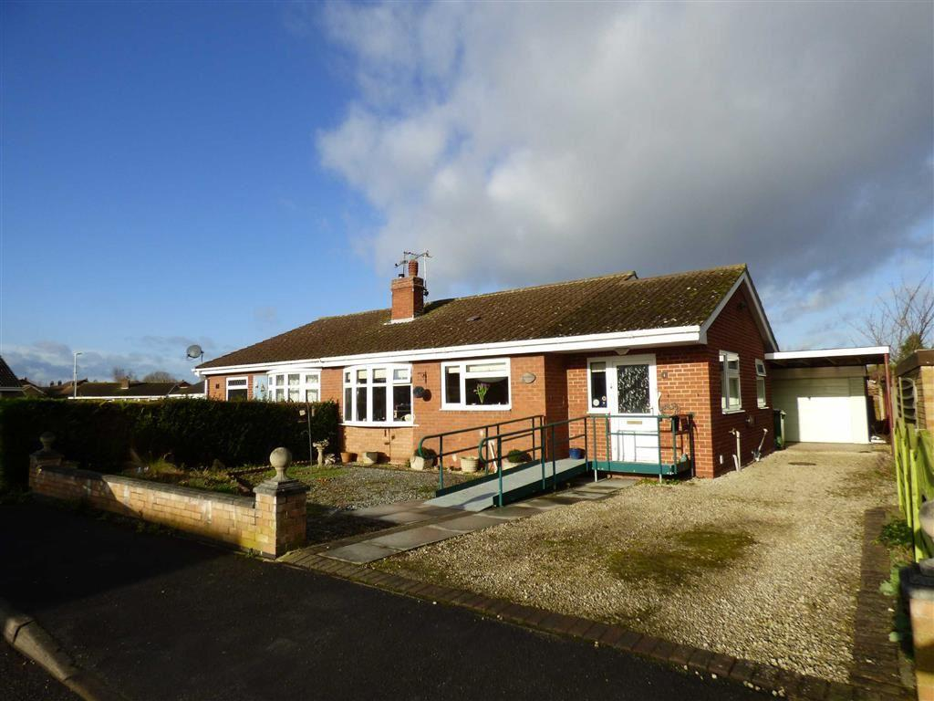 2 Bedrooms Semi Detached Bungalow for sale in Westbrook Crescent, Gilberdyke