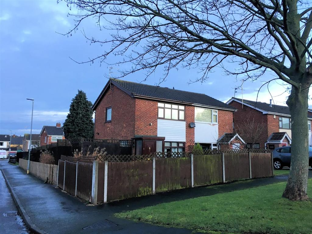 2 Bedrooms Semi Detached House for sale in Wallace Drive, Sileby, Loughborough