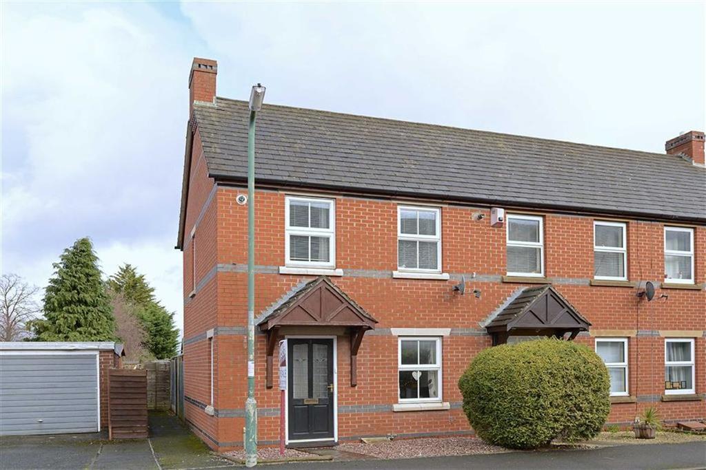 2 Bedrooms End Of Terrace House for sale in Glendower Court, Falstaff Street, Shrewsbury