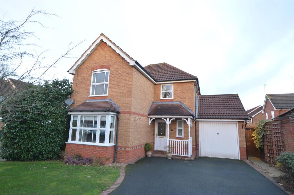 3 Bedrooms Detached House for sale in 7 Ramsey Meadows, Shrewsbury SY1 4YL