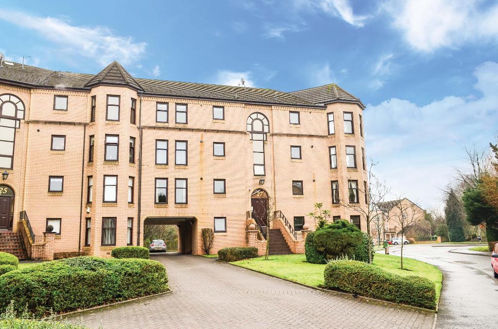 2 Bedrooms Flat for sale in Hughenden Gardens, Hyndland, Glasgow, G12 9XZ