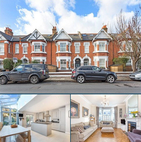 5 bedroom terraced house for sale - Rusthall Avenue, Chiswick, London, W4