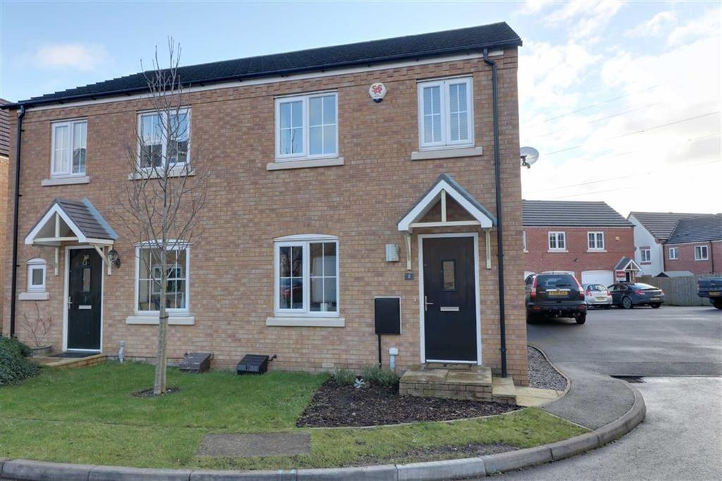 3 Bedrooms Semi Detached House for sale in Packington Mews, Cannock, Staffordshire