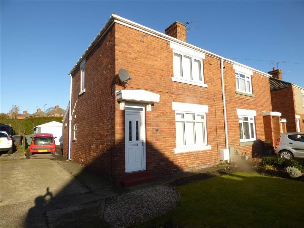 2 Bedrooms Semi Detached House for sale in 67, Dean Road, Ferryhill