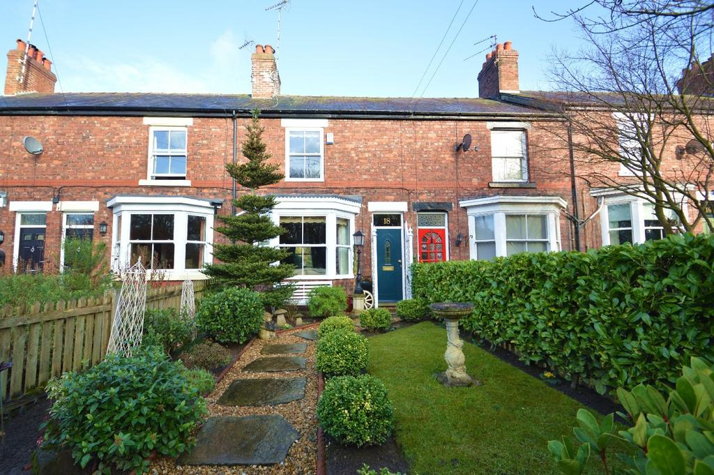 2 Bedrooms Terraced House for sale in Ascol Drive, Plumley, Knutsford
