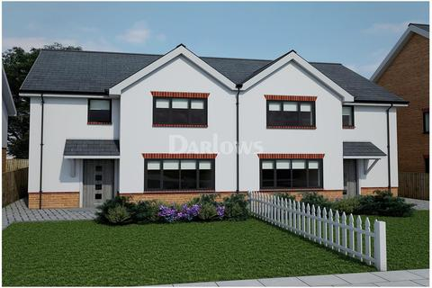 3 bedroom semi-detached house for sale - The Kingfisher, Clos Afon