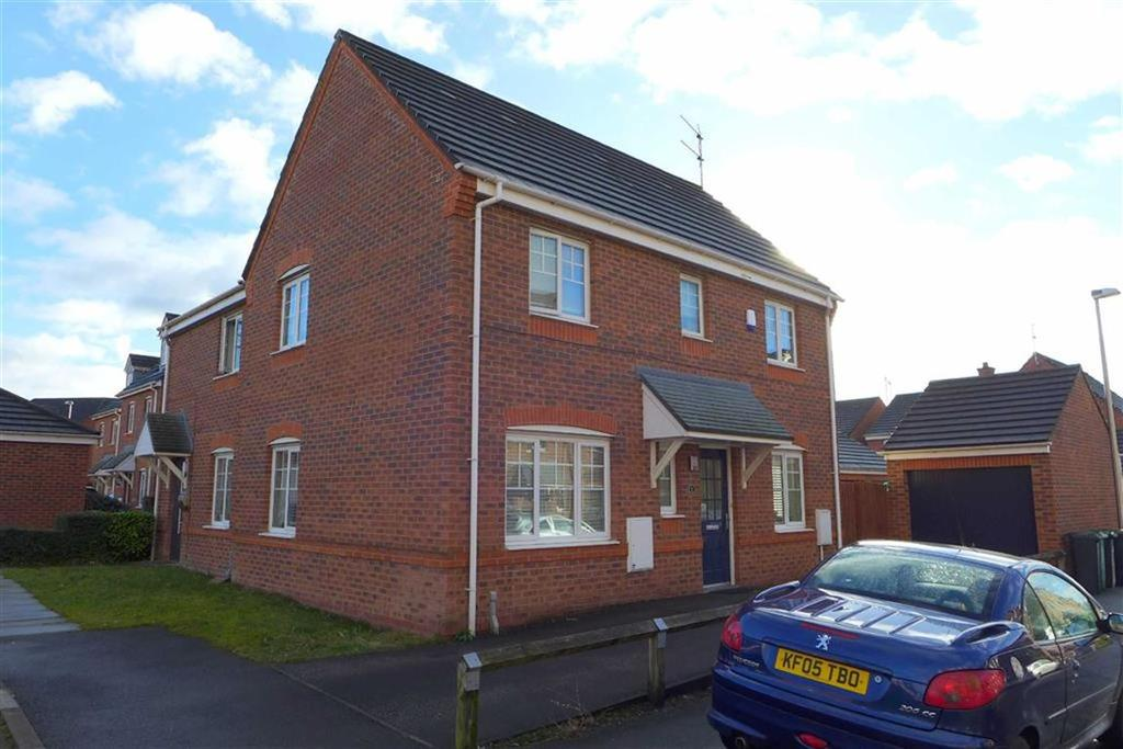 3 Bedrooms Semi Detached House for sale in Bateman Close, The Sidings, Crewe