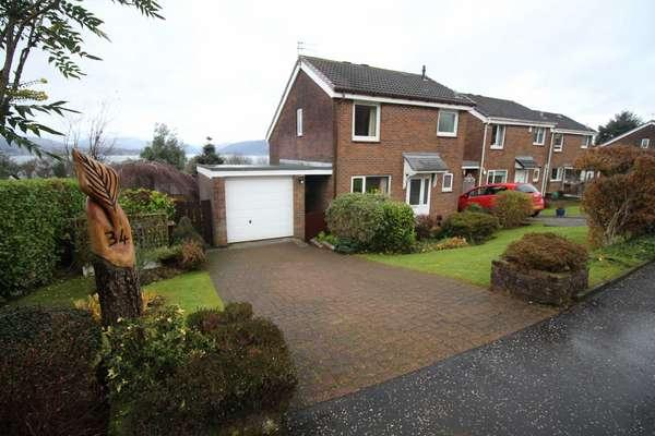 3 Bedrooms Link Detached House for sale in 34 Dunvegan Avenue, Gourock, PA19 1AE