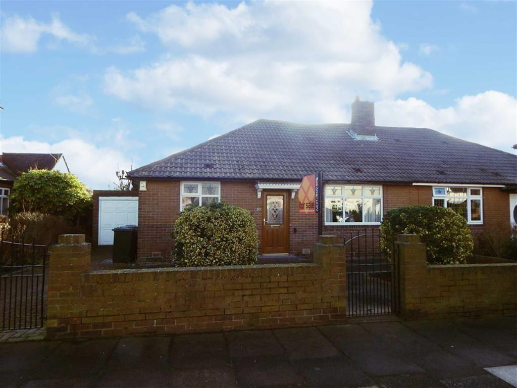 3 Bedrooms Semi Detached Bungalow for sale in Appletree Gardens, Walkerville, Newcastle Upon Tyne, NE6