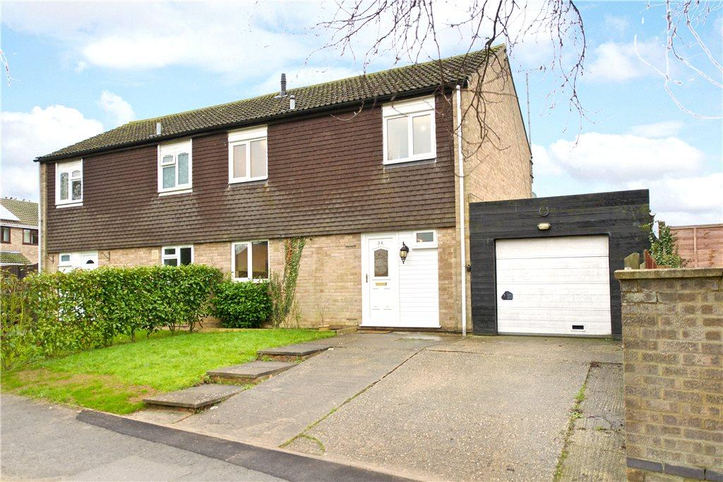 3 Bedrooms Semi Detached House for sale in Severn Drive, Newport Pagnell, Buckinghamshire