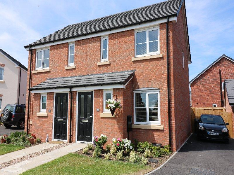 2 Bedrooms Semi Detached House for sale in Pardoe Drive, Peshore WR10