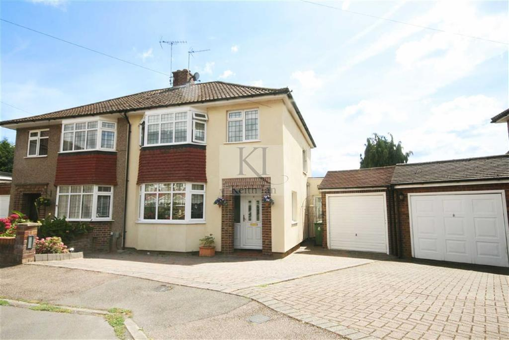 3 Bedrooms Semi Detached House for sale in Royce Close, Broxbourne