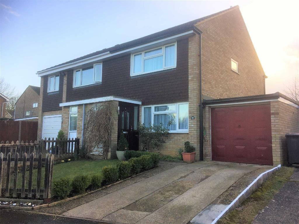2 Bedrooms Semi Detached House for sale in Kipling Close, Hitchin, SG4