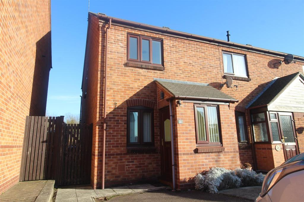 2 Bedrooms Semi Detached House for rent in The Furrows, Southam