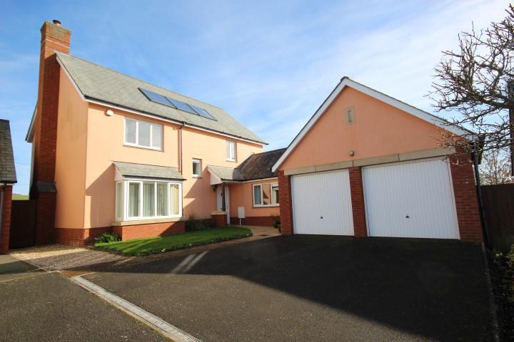 4 Bedrooms Detached House for sale in Pickpurse Lane, Stobumber, Taunton TA4