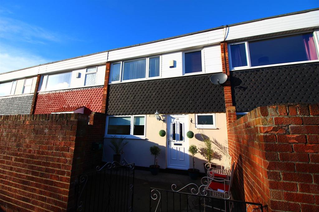 3 Bedrooms Terraced House for sale in Quantock Close, North Shields