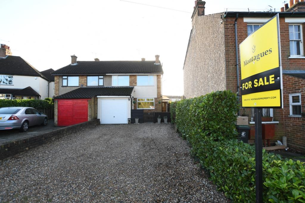 3 Bedrooms Semi Detached House for sale in High Road, North Weald, CM16
