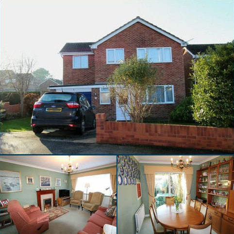 4 bedroom detached house for sale - MEADOW CLOSE, OTTERY ST MARY