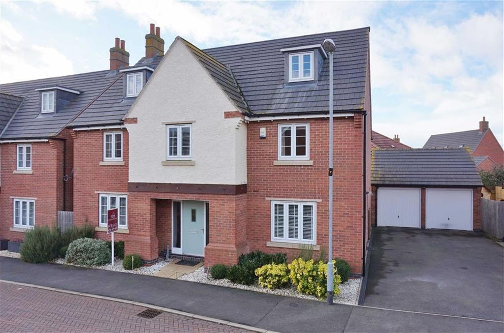 5 Bedrooms Detached House for sale in Kibworth Harcourt